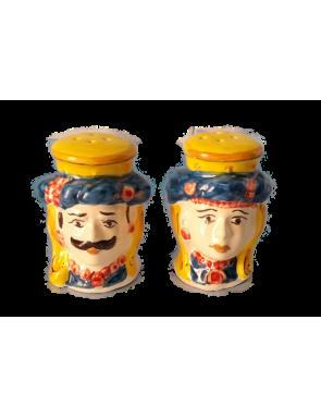 Portasale e pepe in ceramica