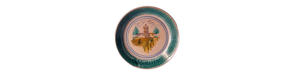 fangotti in ceramica di caltagirone